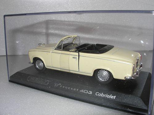 PEUGEOT 403 Cabriolet jaune 006