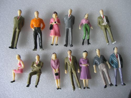 Lot personnages diorama 001