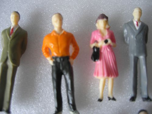 Lot personnages diorama 003