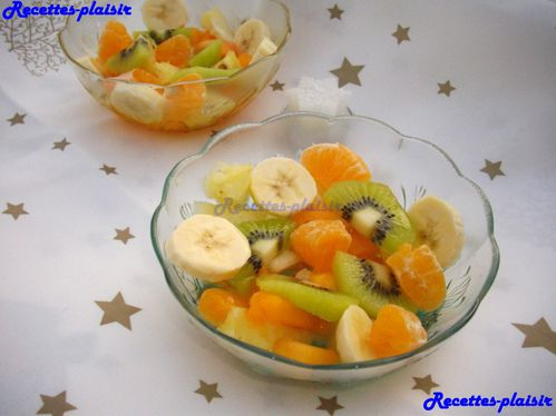 salade fruit noel