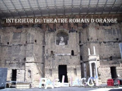 theatre romain orange