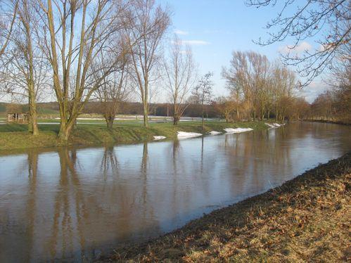 Nidda Hochwasser