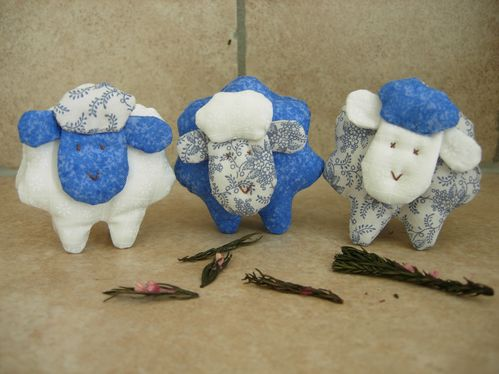 trio de mouton