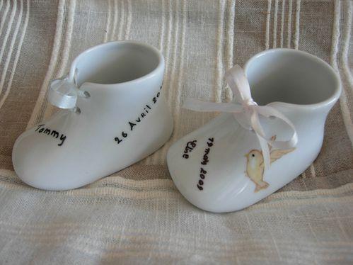 chaussons bébés