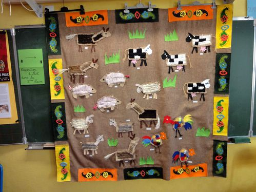 Tableau-animaux