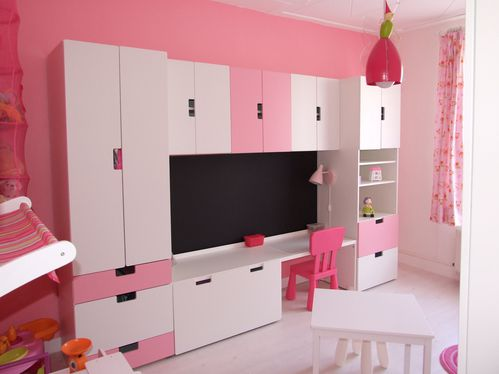la nouvelle chambre de fille de lalie des bouts de vavanille. Black Bedroom Furniture Sets. Home Design Ideas