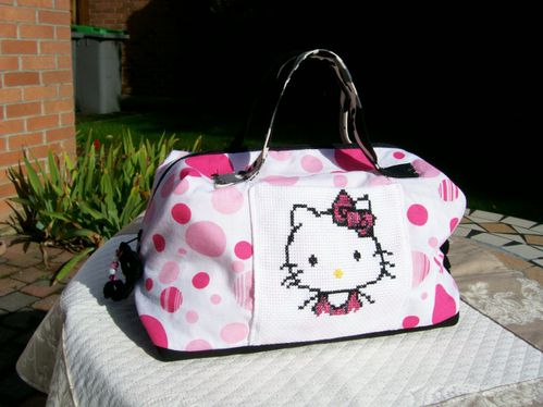 Libellule Hello kitty sac valisette a