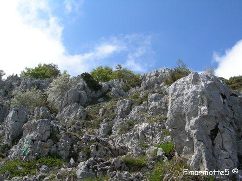 au dessus du Col du Mollard