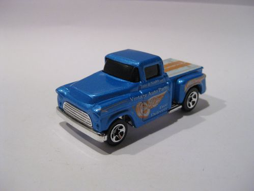 Chevrolet Chevy Pick-Up 1956 Flashsider (bleu)