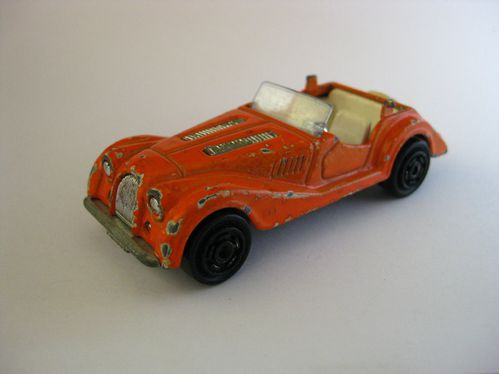 Morgan orange métal.blanc