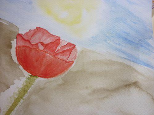 47. Une fleur
