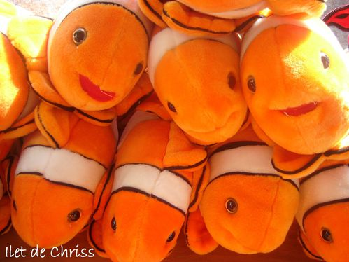 POISSONS PELUCHES