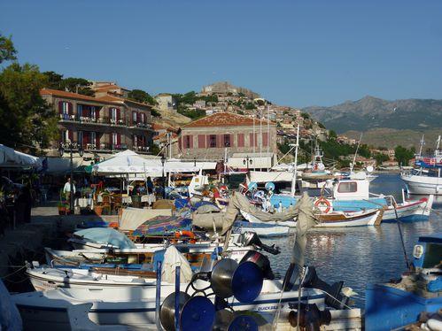 Molivos-port