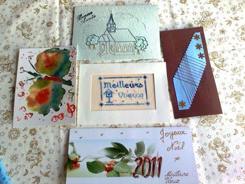 15 - Voeux 2011 - Maryl, Chantal, Ninou, Lilirose, Maryvonn