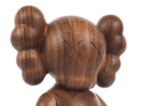 woodpu.jpgKaws Wood Companion by Kaws x Karimoku
