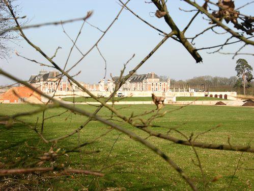 Chateau du champs de bataille