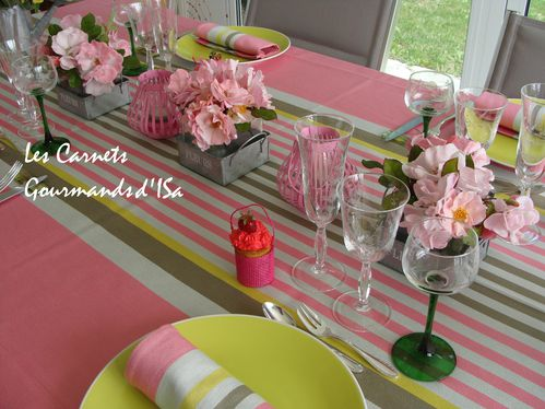 table girly fêtes des mères7