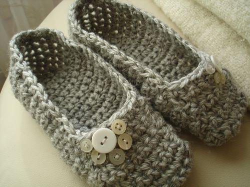 chausson au crochet modele gratuit