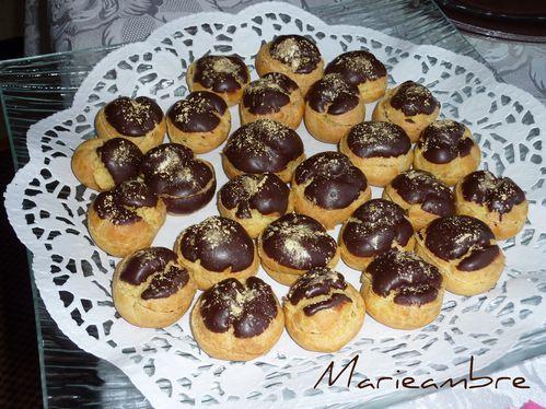 choux chocolat - chantilly menthe