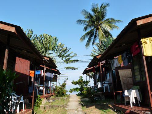 6-Pulau Tioman-bungalows