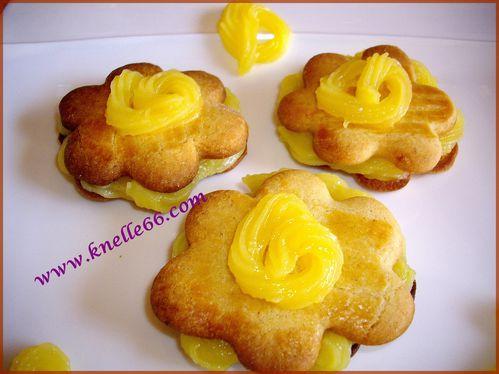 Sablés au Lemon Curd 1