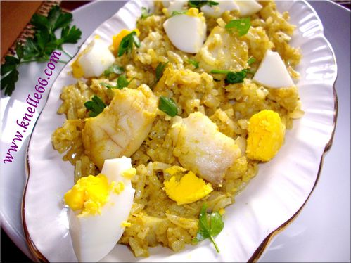 Kedgeree épicé 2