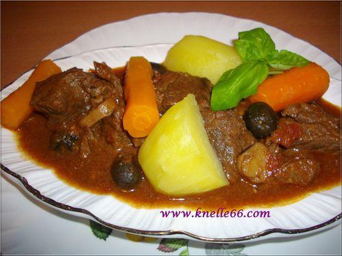 Mijoté de boeuf aux olives 3