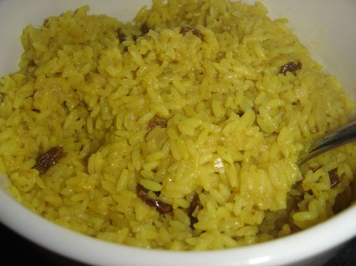 riz au curry et raisin TM (2)