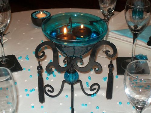 table turquoise 001