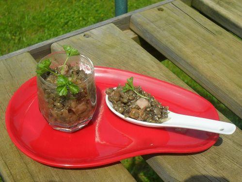 Salade de lentilles (1)
