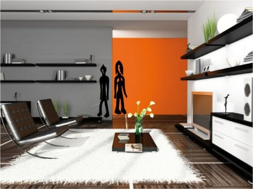 Orange obsession pieces of me for Quelle couleur pour un sejour