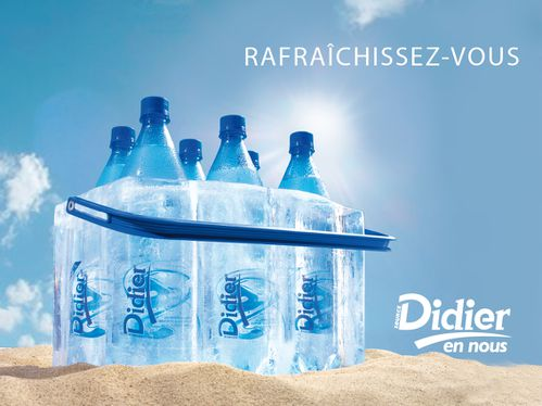 affiche eau de source Didier glacière