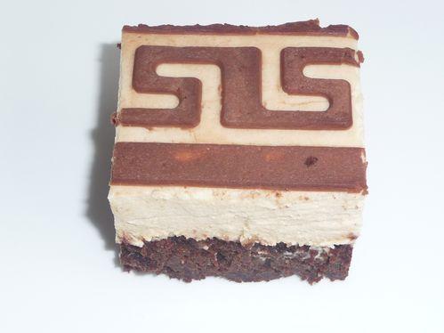 Mousse de Bailey's sur biscuit fondant au chocolat