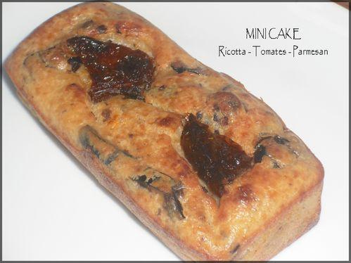 mini cake ricotta tte parmesan