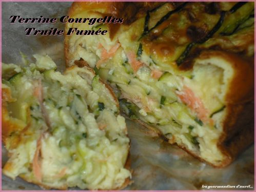terrine courgettes truite