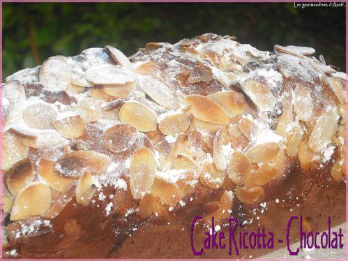 cake ricotta - chocolat1