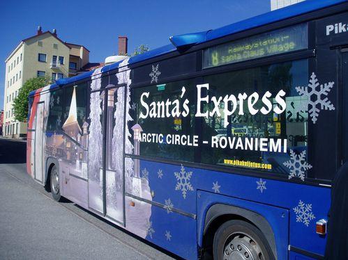 Bus du père Noel