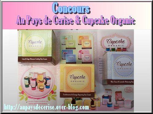 concours cupcake organic au pays de cerise 2