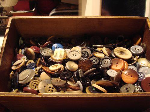 boutons variés