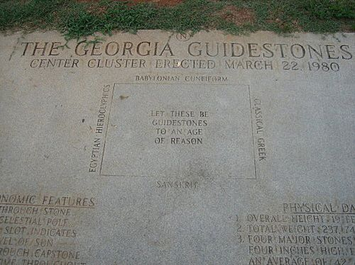 plaque-guidestones