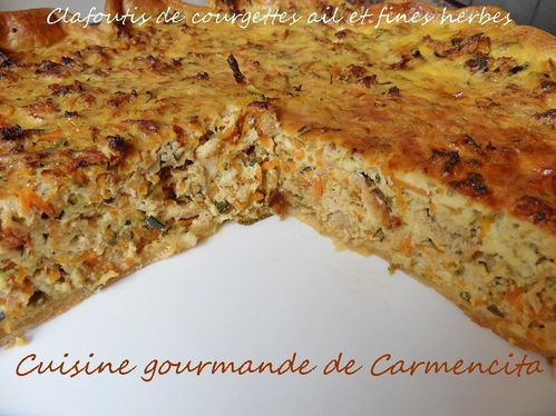 SAM 1381 (2) Clafoutis-de courgettes au fromage fines herbe