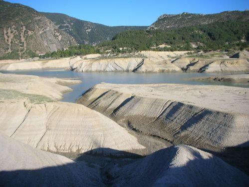 Lac de Médiano en Aragon