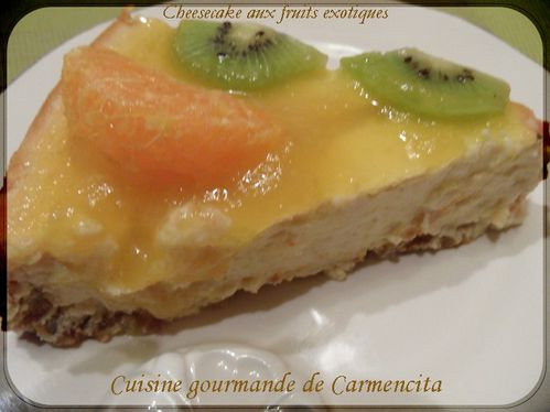 2Cheesecake aux fruits exotiquesSAM 6606-border