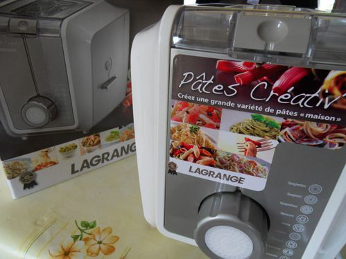Machine p tes p te creativ lagrange gourmandise - Machine a pate penne ...