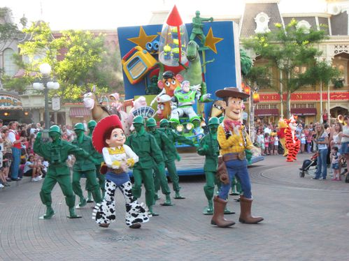 053 - Parade - Disneyland Paris