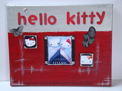 Hello Kitty sur le Titanic