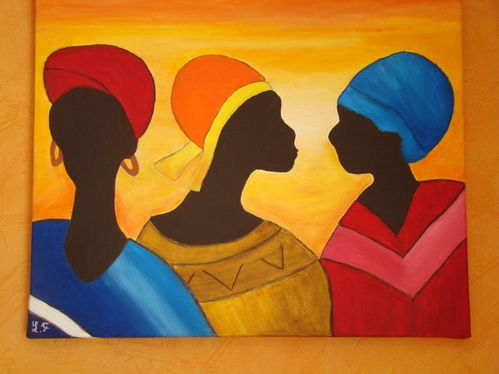3 femmes africaines