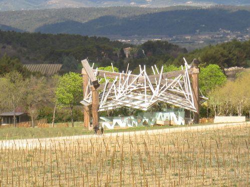 La Coste, Gehry Partners, Pavillon de musique, 2008