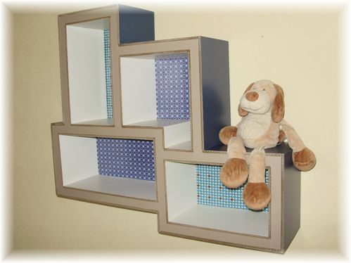 L 39 tag re termin e carton magique for Etagere enfant deco