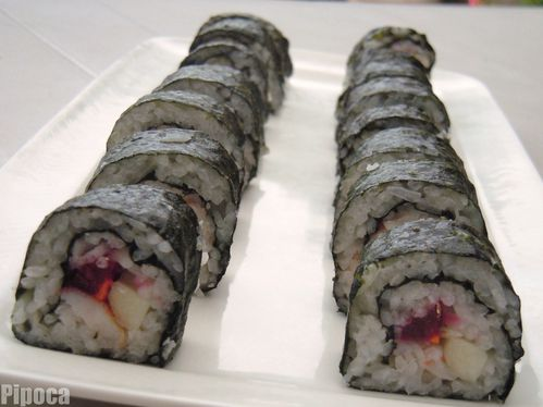 mes premiers sushis